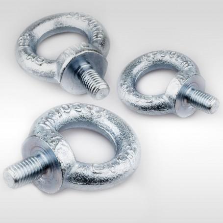 M10 Ringschrauben - Augenschrauben DIN 580 - WLL 0,23t - 230kg