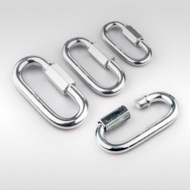Schraubglieder - Schnellverschluss für Stahlketten - Kettenverbinder - Not-Glied