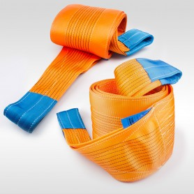 10t Hebeband - 10000kg - verschiedene Längen: 4 bis 10m - Hebebänder Krangurt Bergegurt Hebegurt Gurt