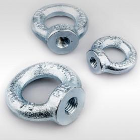 M6 - M24 Ringmuttern - Augenmuttern DIN 582 - WLL 0,09t - 1,8t