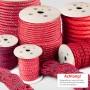 2mm - 25mm Polypropylenseil rot - PP Seil (Meterware: 10m - 200m)