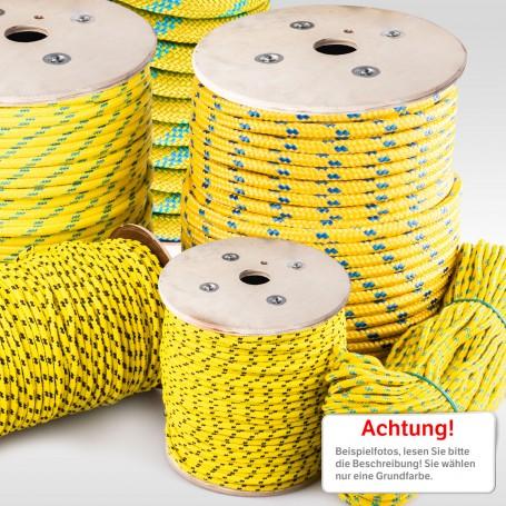 2mm - 20mm Polypropylenseil gelb - PP Seil (Meterware: 10m - 200m)