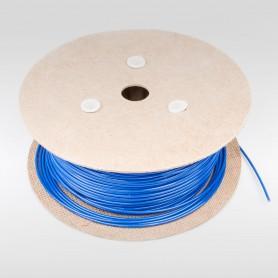 Drahtseil 3mm verzinkt PVC ummantelt blau (Draht 1,6mm - 1x7) 10m bis 200m Stahlseil 3 mm