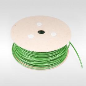Drahtseil 4mm verzinkt PVC ummantelt grün (Draht 2mm - 1x19) 10m bis 200m Stahlseil 4 mm