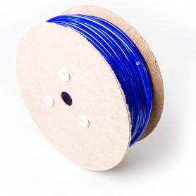 Drahtseil 6mm verzinkt PVC ummantelt blau (Draht 3mm - 1x19) 10m bis 100m Stahlseil 6 mm