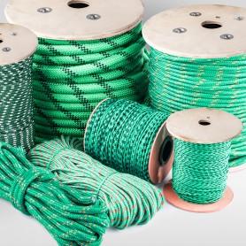 5mm Polypropylenseil grün - PP Seil (Meterware: 50m - 300m)