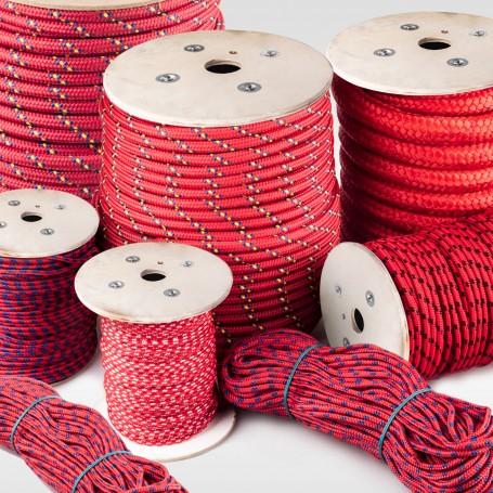 6mm Polypropylenseil rot - PP Seil (Meterware: 10m - 300m)