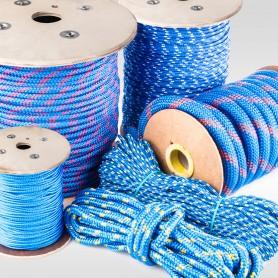 6mm Polypropylenseil blau - PP Seil (Meterware: 10m - 300m)