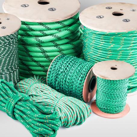 6mm Polypropylenseil grün - PP Seil (Meterware: 10m - 300m)