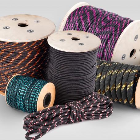 8mm Polypropylenseil schwarz - PP Seil (Meterware: 10m - 200m)