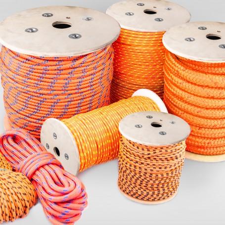 12mm Polypropylenseil orange - PP Seil (Meterware: 10m - 150m)