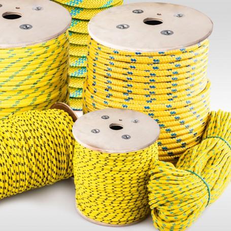 12mm Polypropylenseil gelb - PP Seil (Meterware: 10m - 150m)