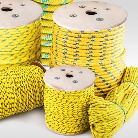 16mm Polypropylenseil gelb - PP Seil (Meterware: 10m - 100m)