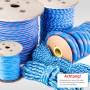 20mm Polypropylenseil blau - PP Seil - 50m
