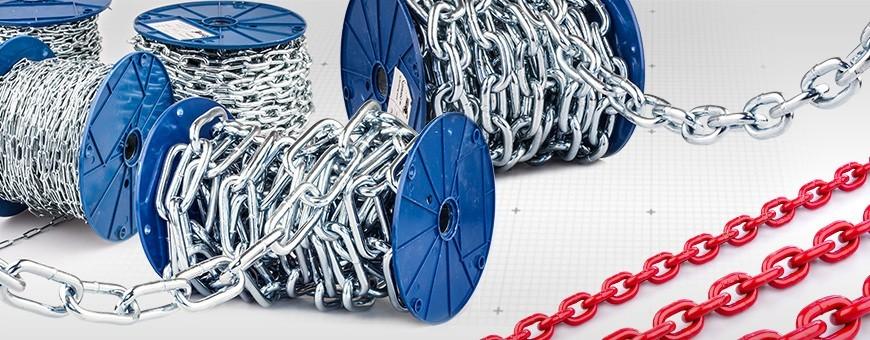 Stahlkette Kurzgliedrig und Langgliedrig, Anschlagkette Güteklasse 8