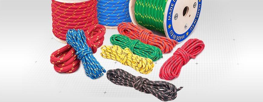 Polypropylenseile:sechs Farben, Meterware:10m-200m 2mm bis 25mm Stärke