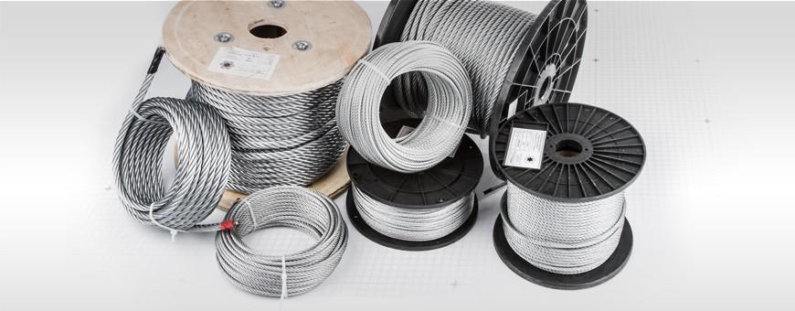 Stahseil verzinkt Drahtseil Meterware von 5m bis 200m