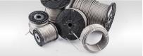 Edelstahlseil Drahtseil INOX AISI316 ISO2408  Meterware: 5m - 200m