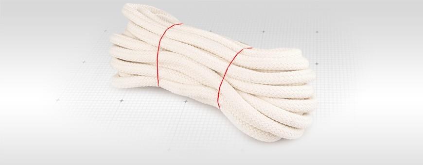 Baumwollseil geflochten Länge: 20m-500m 100% Baumwolle ganz natürlich